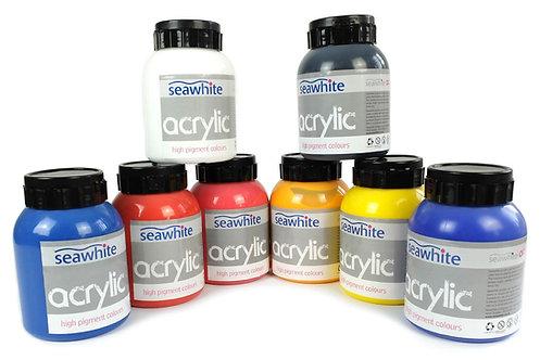 Acrylique - 8 couleurs - 1 litre