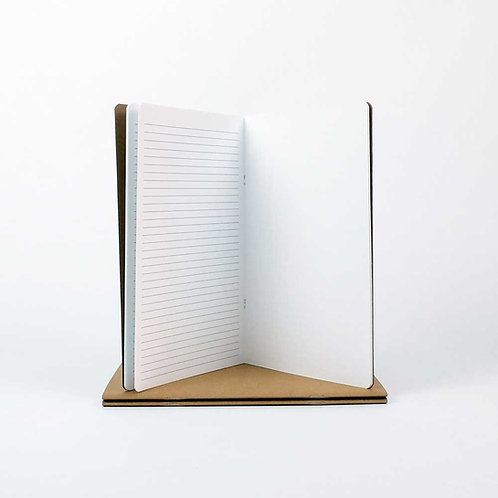 Carnet Starter ligne ½ pages - Seawhite - 140gms - 32 pages