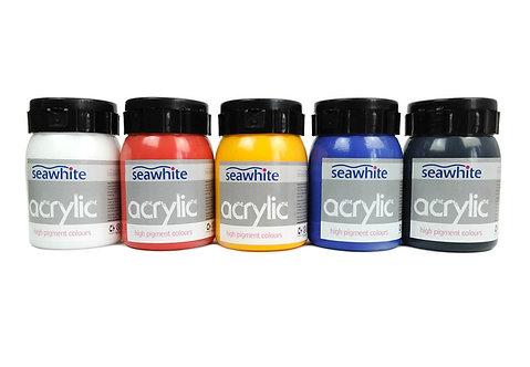 Acrylique - couleurs primaires - 500ml