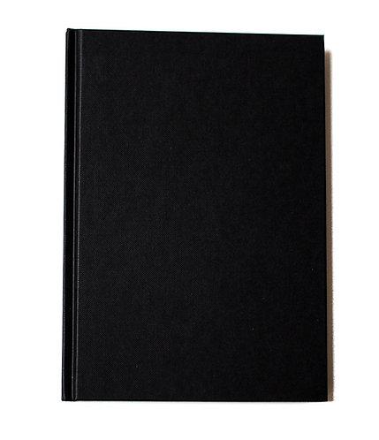 Carnet couverture rigide tissu toilé -19x25