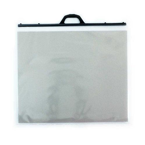 Pochettes plastiques - anses noires - A3 et A2