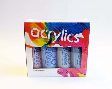 Acrylique - set de 8 tubes - 200mls