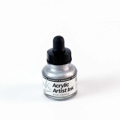 Encres acryliques - métallisées