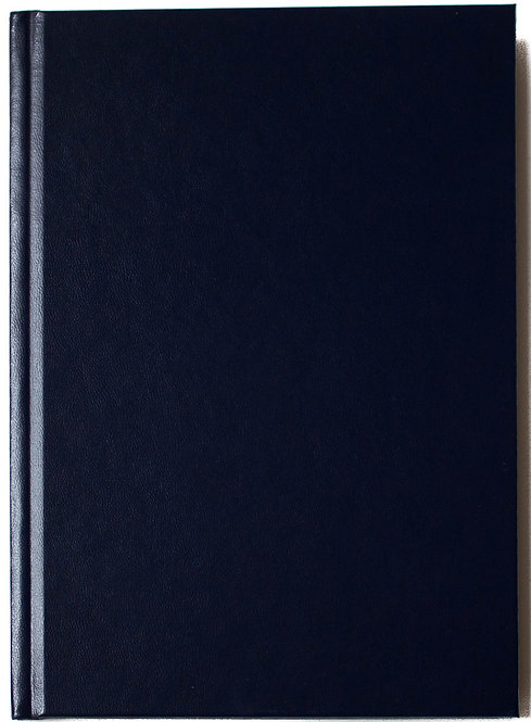 Carnet couverture rigide - 140g - 92 pages
