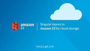 Singular moves to Amazon S3 for cloud storage