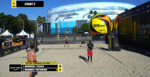 Amazon Prime Video uses Singular overlays for AVP Champions Cup Series