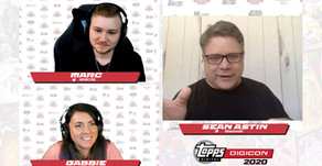 Topps Digicon Hosts Online Convention with Help of Singular Overlays