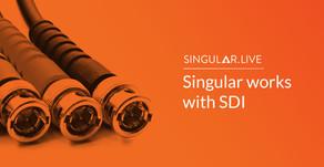 Singular works with SDI