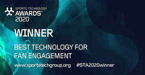 Singular Wins Best Technology for Fan Engagement at STA 2020