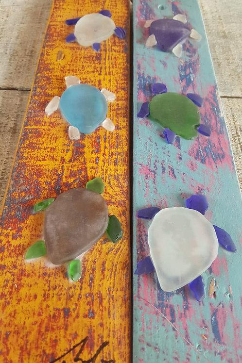 Seaglass Turtles
