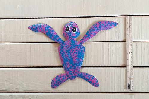 Long Leg Sea Turtle