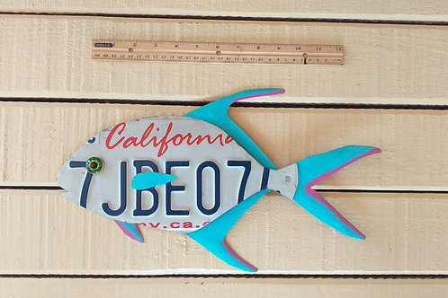 License Plate Jack Fish