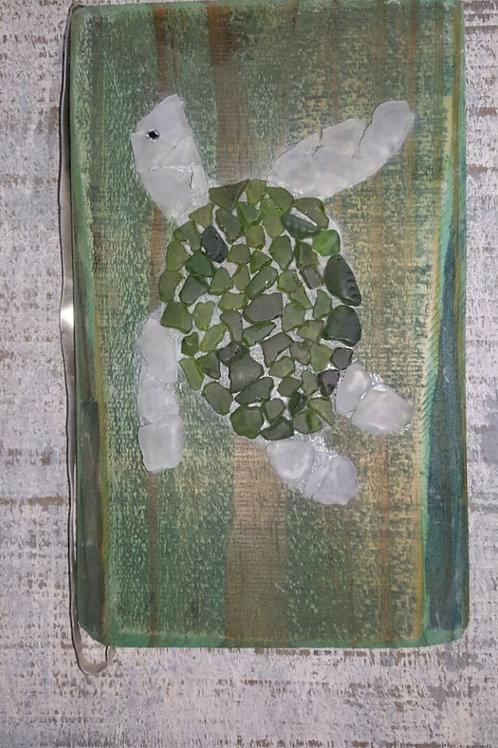 Green Seaglass Turtle