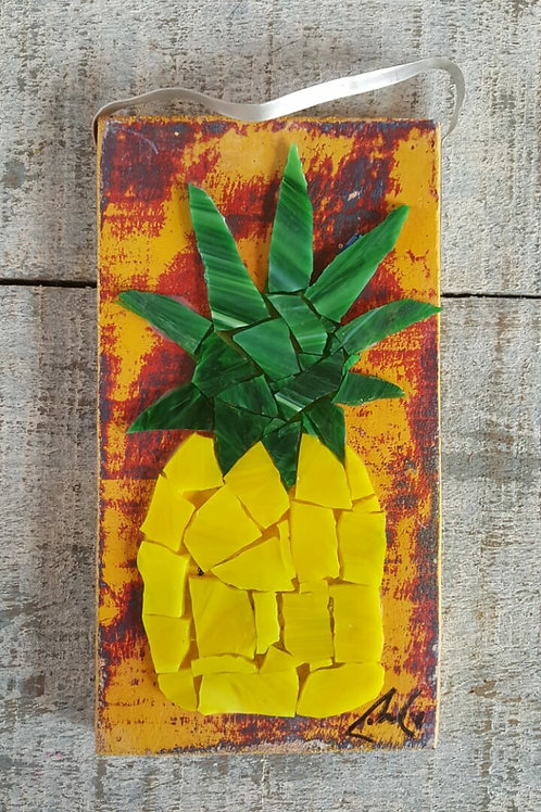 Recycled Glass Pineapple