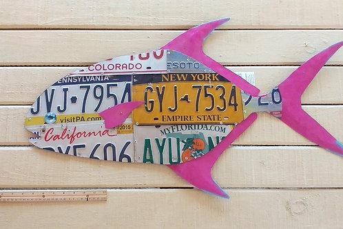 License Plate Fish #8