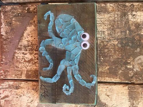 Sea Glass Octopus #3
