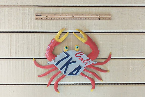 License Plate Crab
