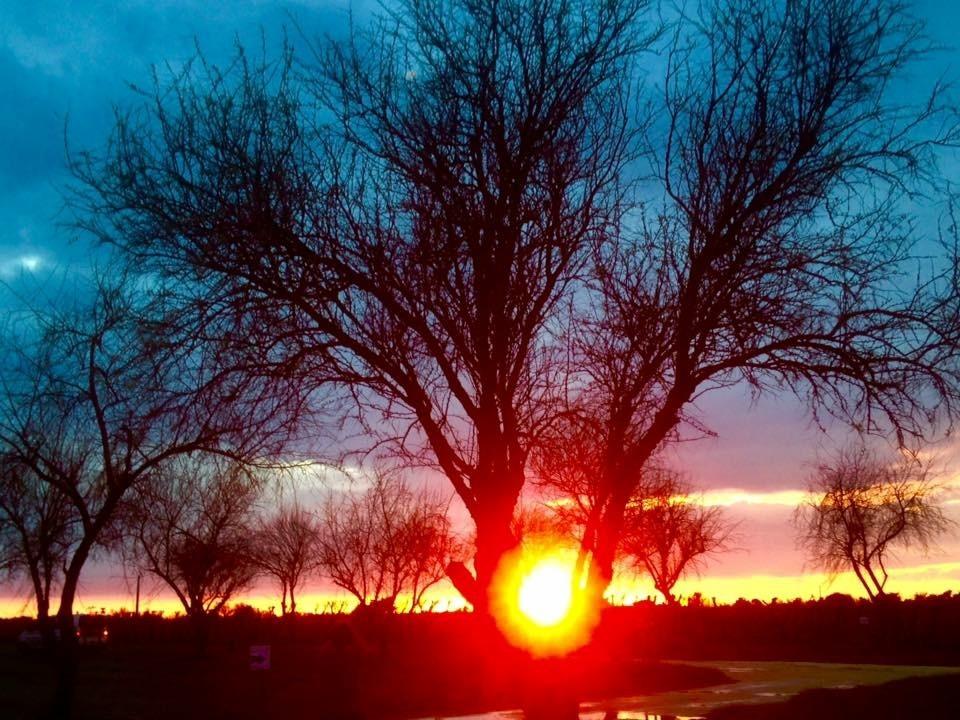 Coucher soleil à Chassiron