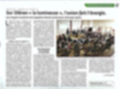 Reportage AG fondatrice 31 mai 2018 RMO à la Hune