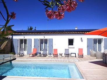 Villa de la prise du Jas, villa solaire