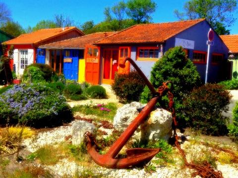 cabanes créateurs chateau d'Oléron
