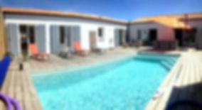 Location villa au Château d'Oléron   8/10 personnes, piscine chauffée