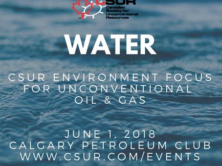 CSUR Water Talk