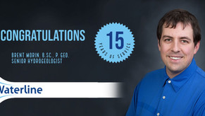 Congratulations On 15 Years With Waterline.