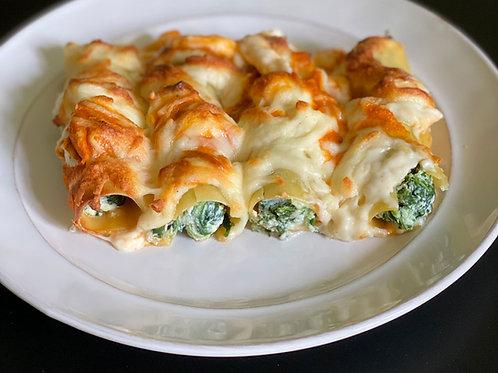 (v) Cannelloni de ESPINAFRE e RICOTTA | congelado | 400g | 1 pax