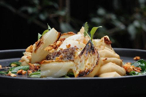 BACALHAU, Taco de Bacalhau com Broa // Salt Cod w/ Corn Bread