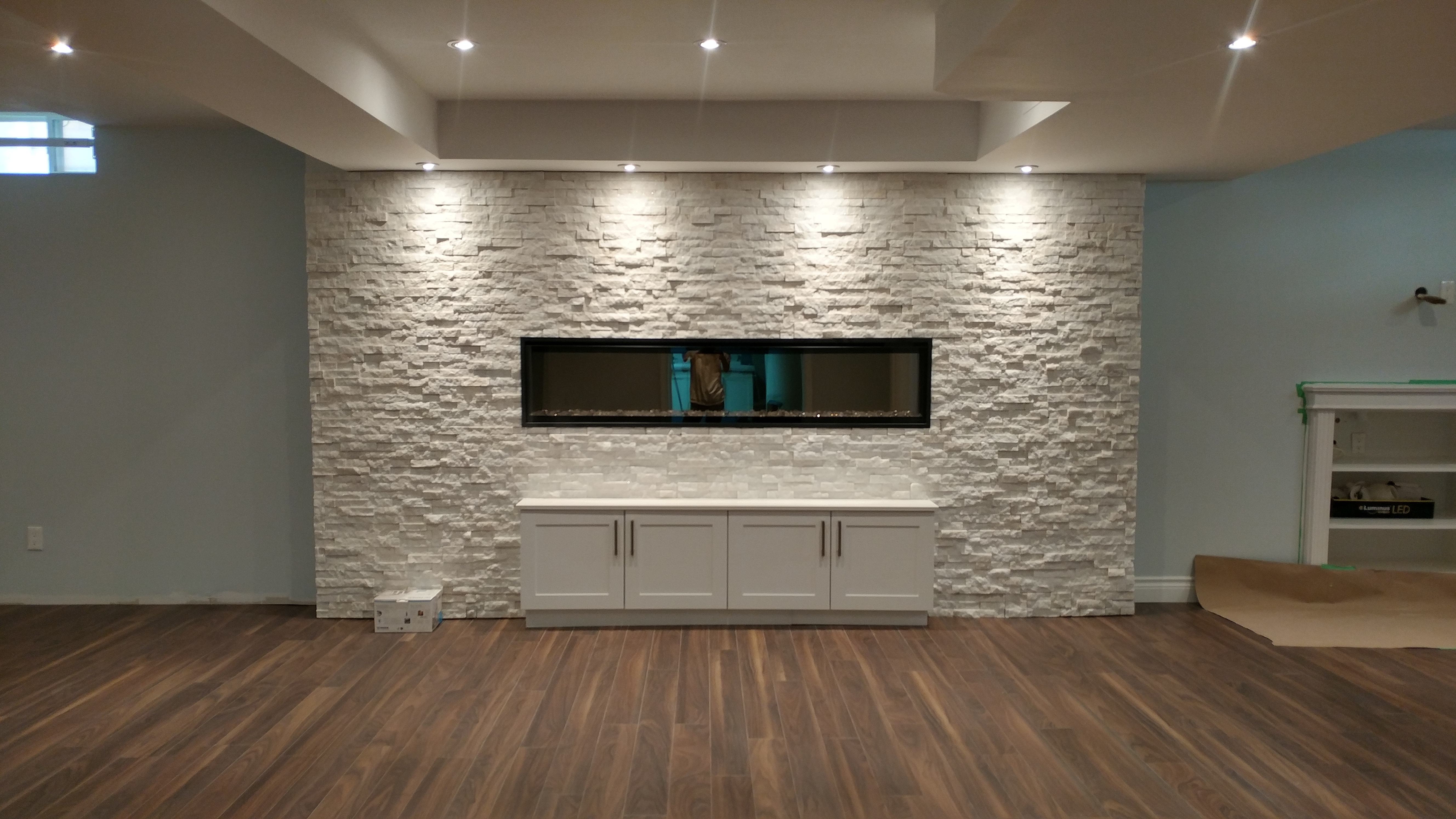 In-Wall Fireplaces
