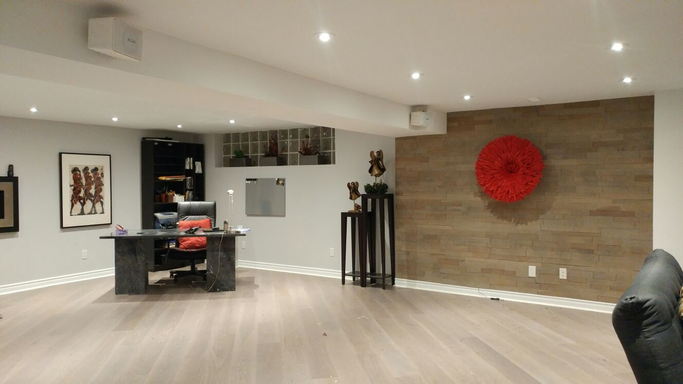 Wood Panel Feature Walls