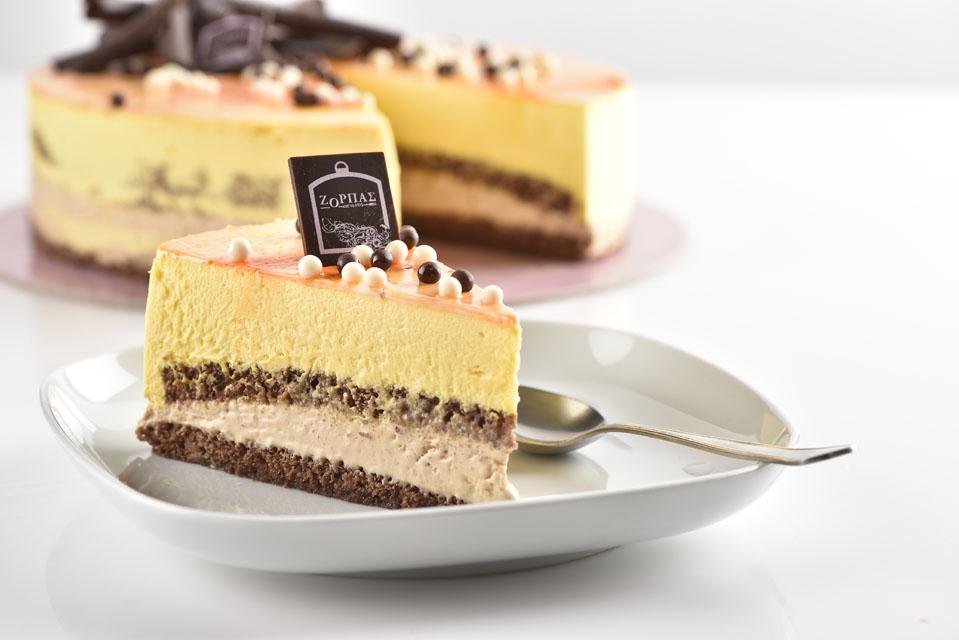 Zorbas cake in plate