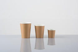 Cups Brown Paper