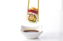 Sushi eating