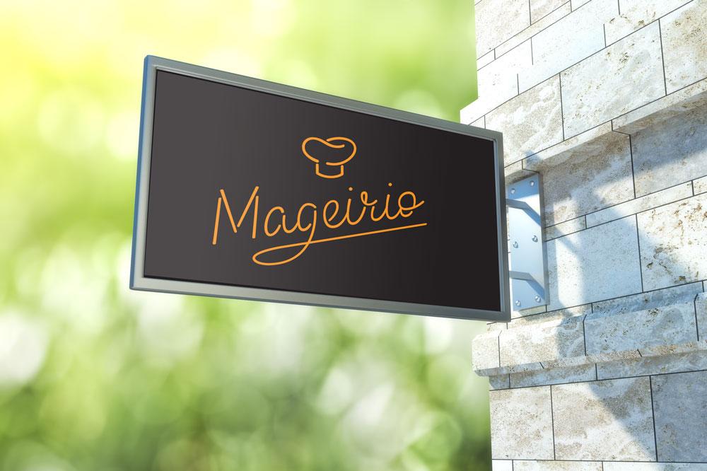 Mageirio Signage