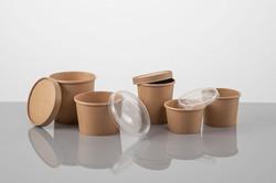 Paper Round Bowls