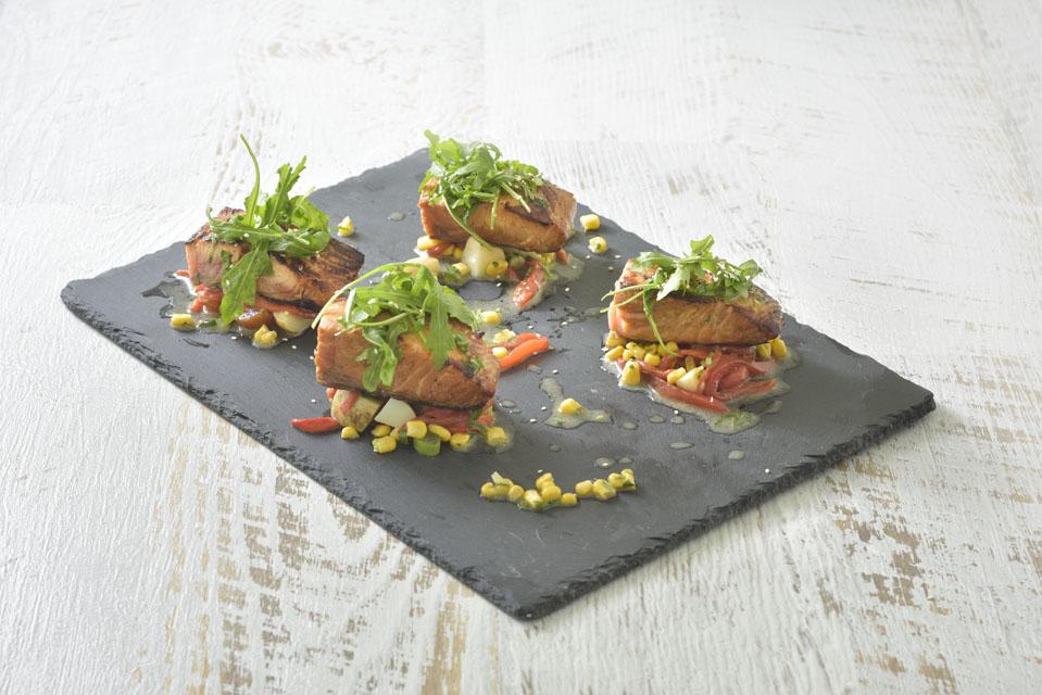 Salmon meal 2