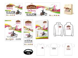 Zorbas delivery branding