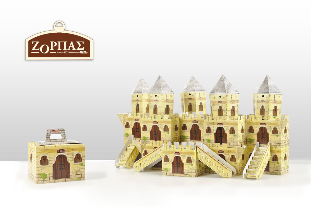 Zorbas Paper Castle Creation