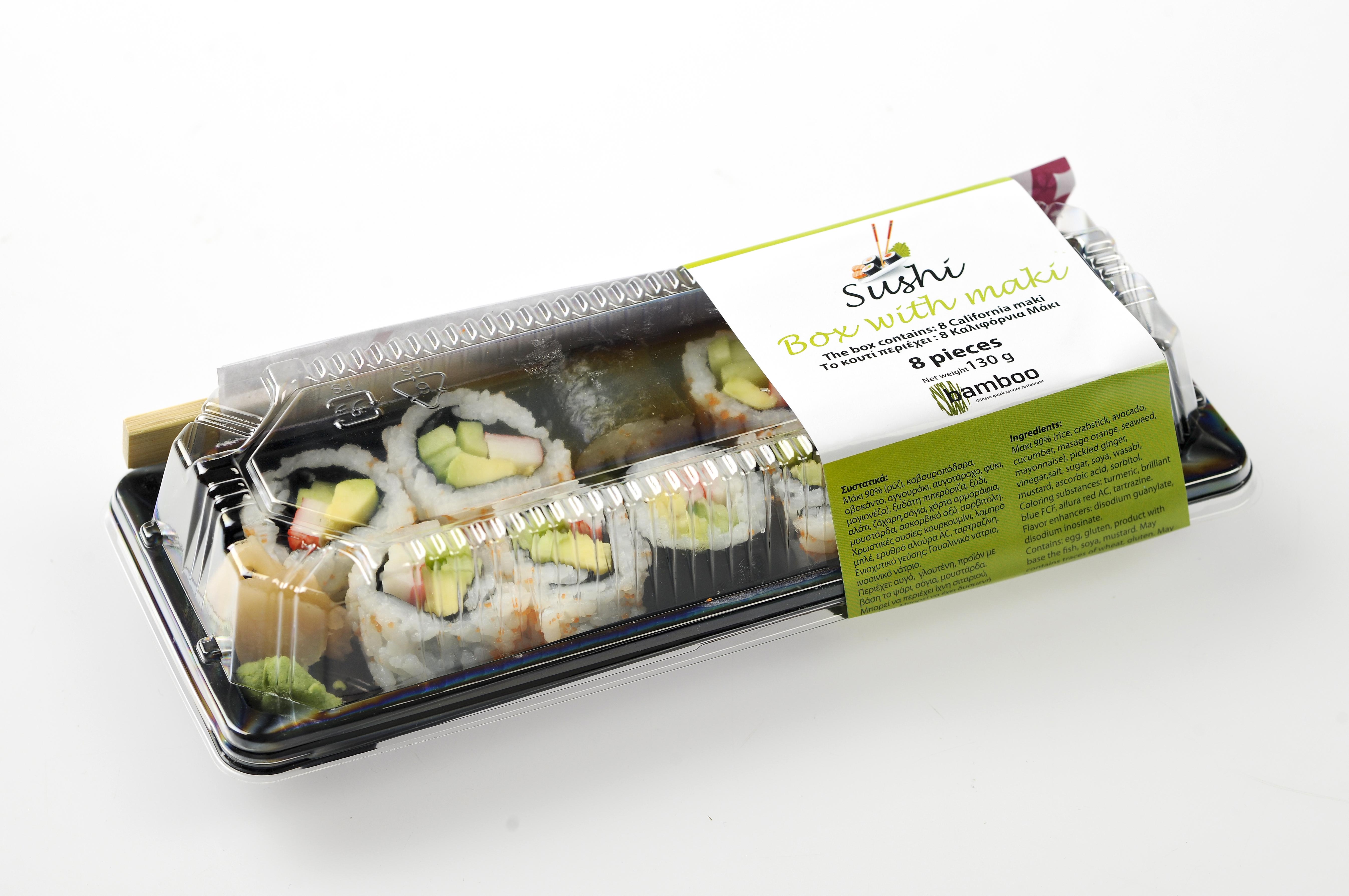 Akai Sushi Labeling
