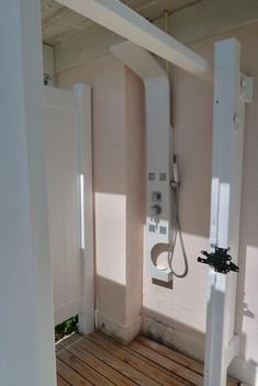 Exterior shower