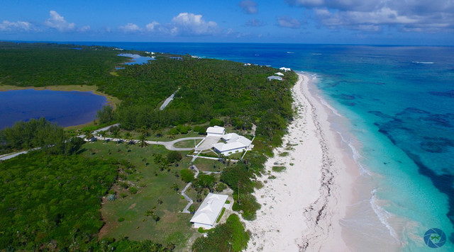 Over 725 of private pink sand beach