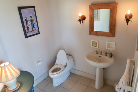 Powder Room for the main house