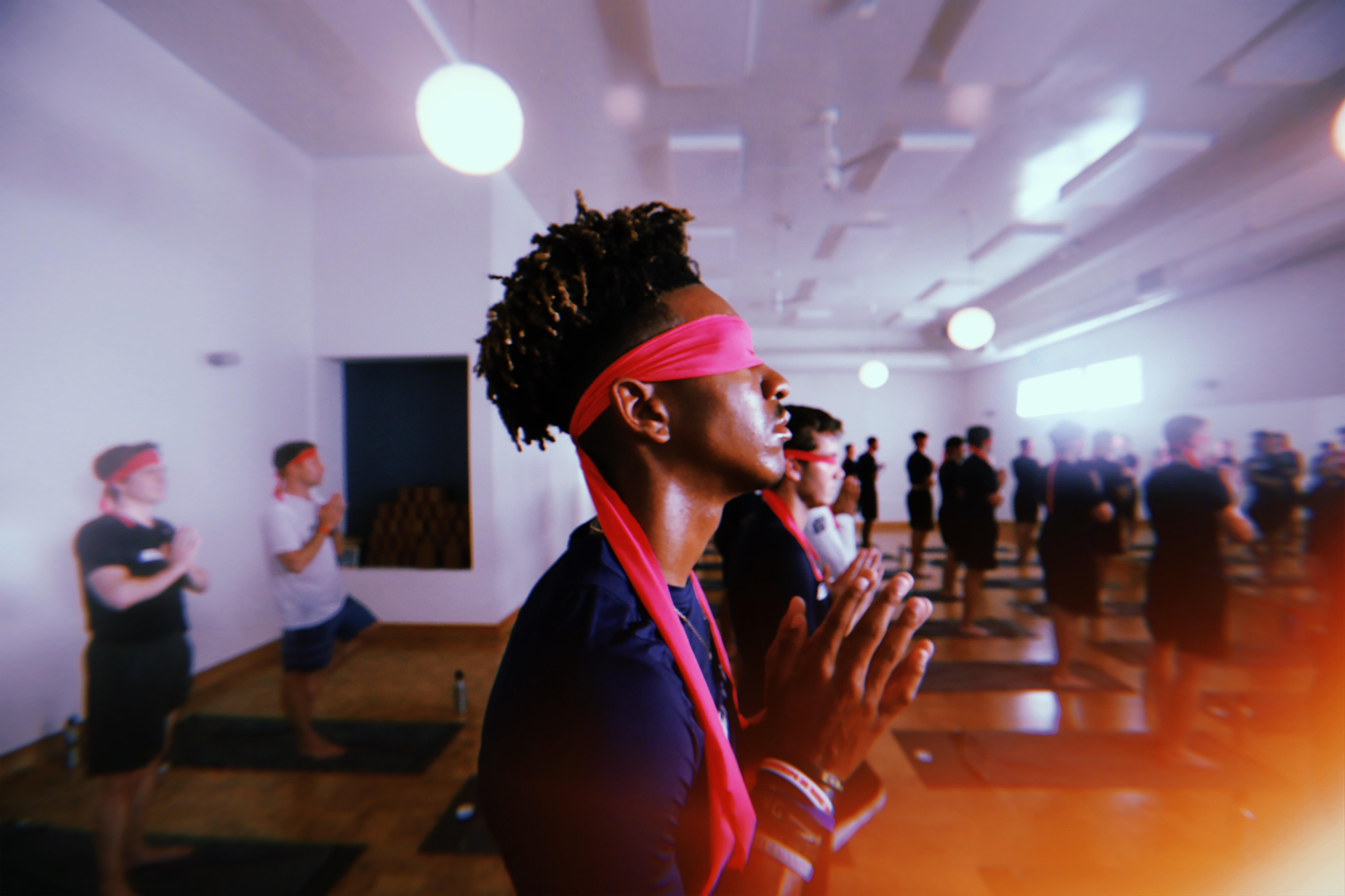 Jayden Daniels Yoga