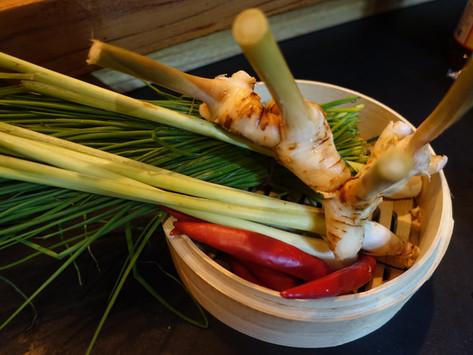 Die Tom Yam-Suppe