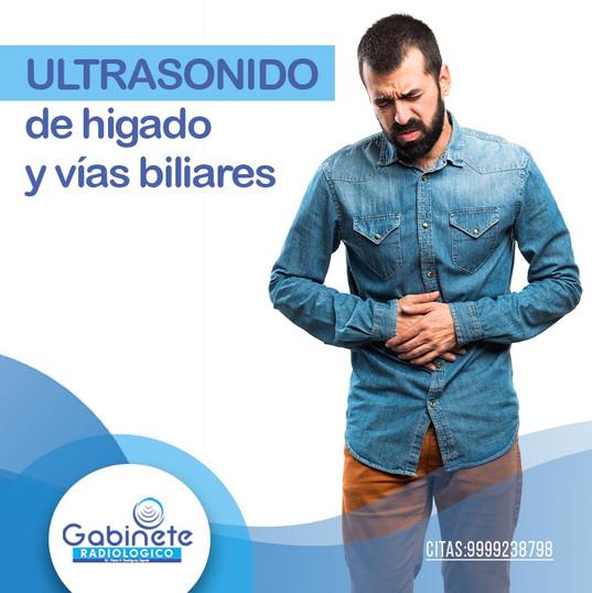 Ultrasonido Hígado y Vías Biliares