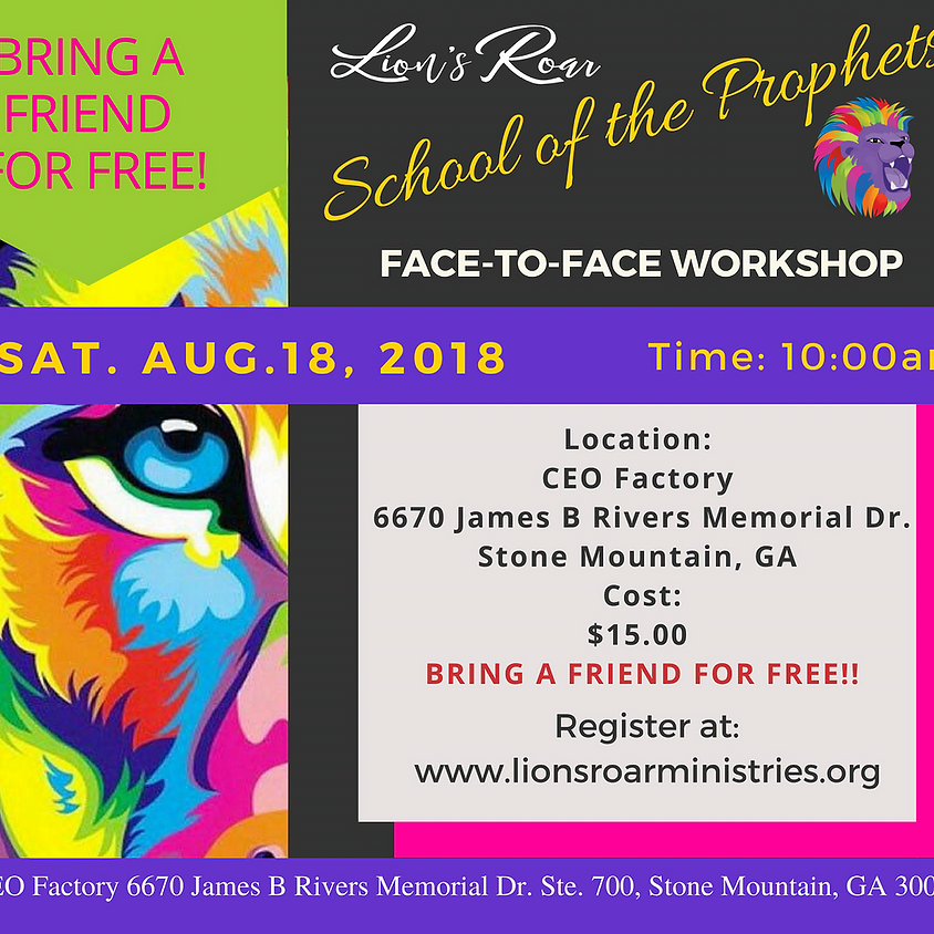 School of the Prophets Face to Face