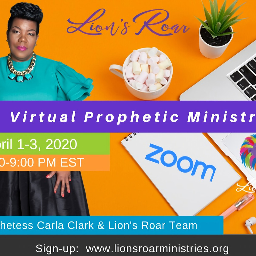Virtual Prophetic Ministry April 1