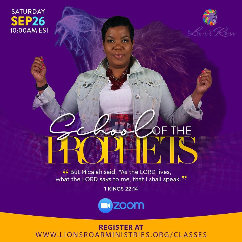 School of the Prophets Online  9.26